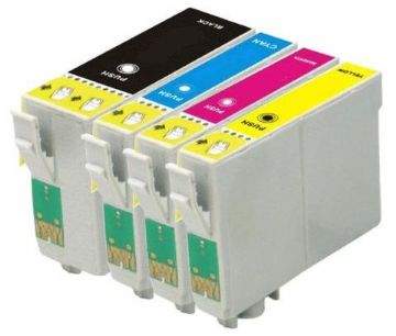 Epson Alternative High Capacity 27XXL / 27XL Black & 3 Colour Compatible Ink Cartridge Multipack (T2791 & T2715)